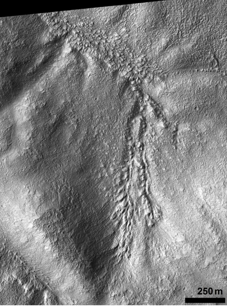Figure 19c. Similar formation in another HiRISE frame east of b.