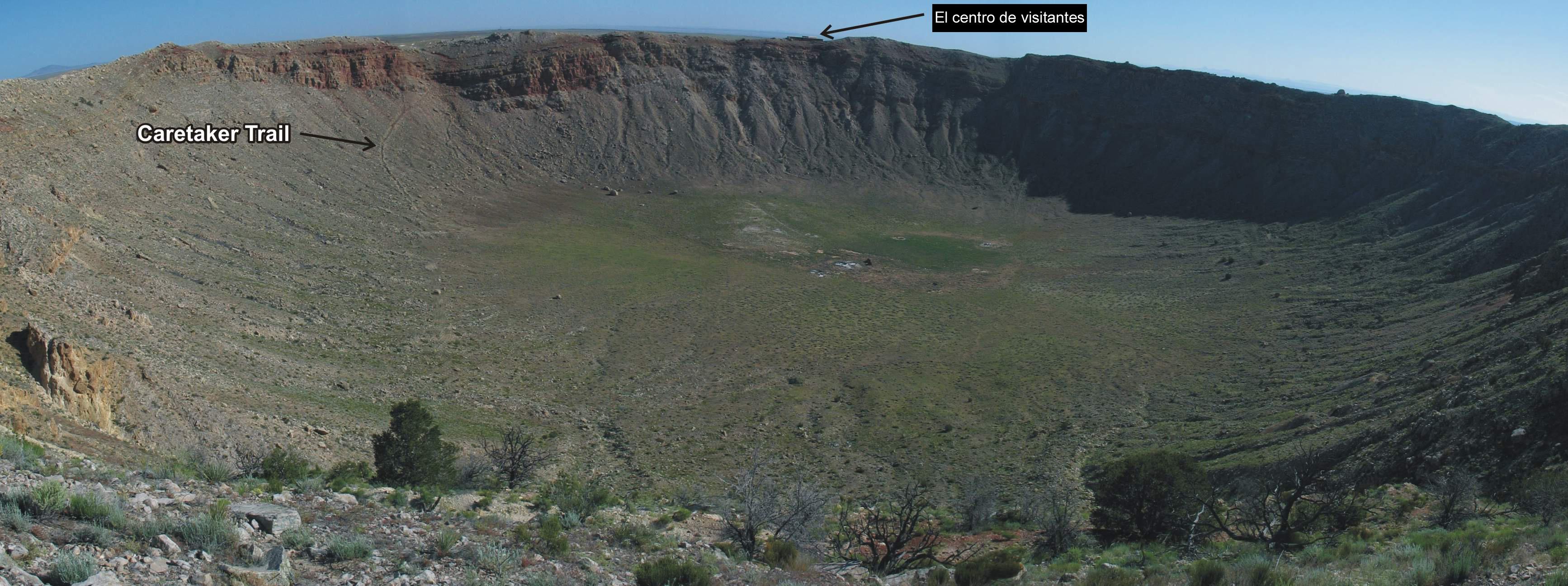 El cráter de Arizona podría no ser un cráter Barringer_Stop10c_spn