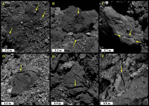 bennu thermal rock fracturing