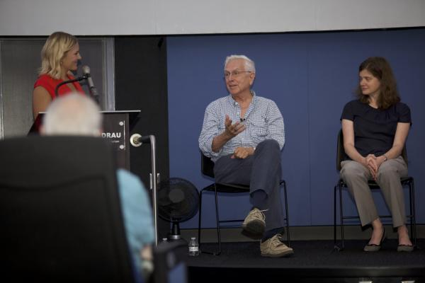 hartmann at UA panel discussion