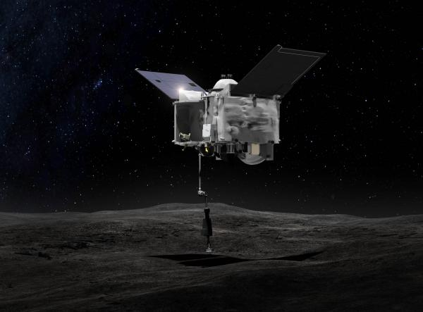 osiris-rex grabs sample of Bennu
