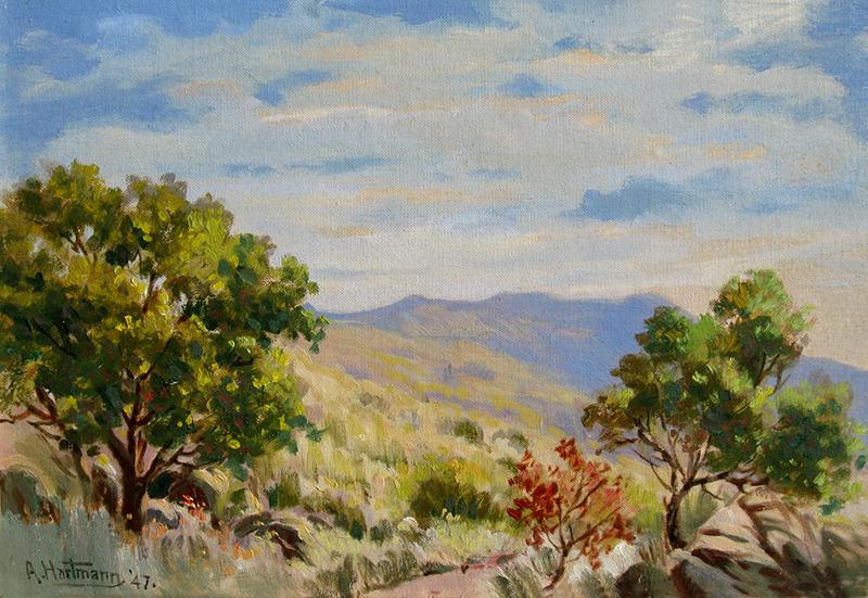 Andrew Hartmann American Impressionist Painter 1868 1953