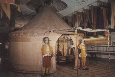 The Army Museum of Madrid, Spain, displays a royal 1517 camp tent, possibly similar to the camp tent used by Governor Coronado in 1540.