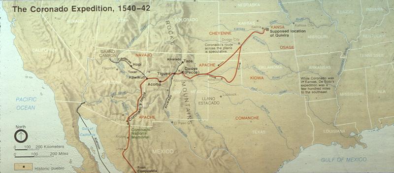 Coronado\'s Journey Through New Mexico, Texas, Oklahoma, and Kansas ...