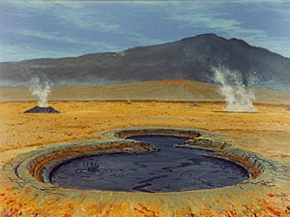 281 - Boiling Mud Pot near Lake Myvatn, Iceland