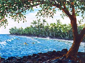 428 - Surfers at Pohoiki Beach