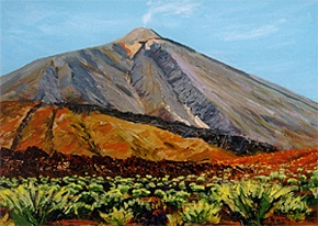 456 - El Teide Volcanic Park, on Tenerife, Canary Islands
