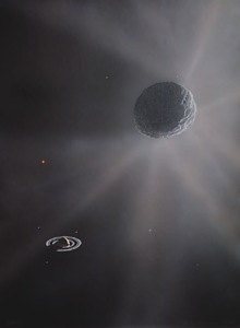 "309 - ""Asteroid"" 2060 Chiron Passing Saturn"