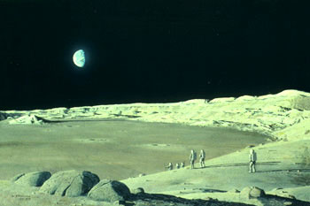 105 - October 1979, Exploring a Lunar Crater