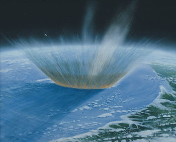 191 - March 1983, Sixty Seconds after Impact of 10km Asteroid