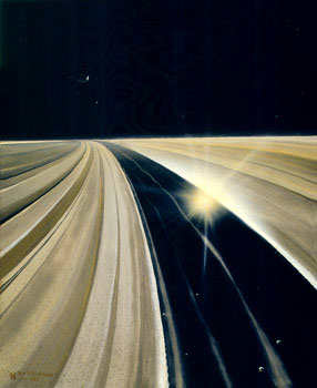 194 - July 1983, Saturn's Rings: 300km Over the Encke Gap
