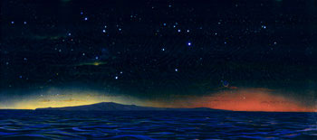 257 - December 1986, Double Sunset on a Planet of a Double Star in an Open Cluster