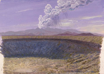286 - February 18, 1989, Elegante Crater and Pinacate Eruption