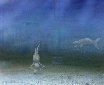 306 - January 1990, Intelligent Shallow-Sea Creatures in Alien Water-World Sea