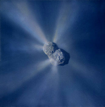 346 - January 1992, Halley Comet Nucleus