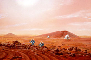 384 - November 1993, First on Mars