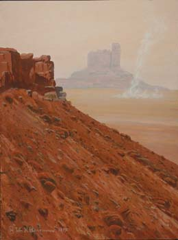 498 - February 1999, Mars: Among the Buttes