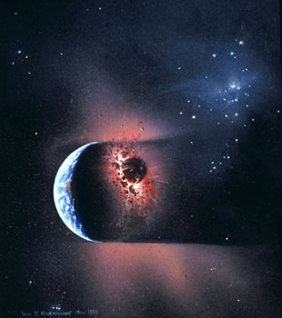 72 - May 1978, Collision of Planetesimal and Earth
