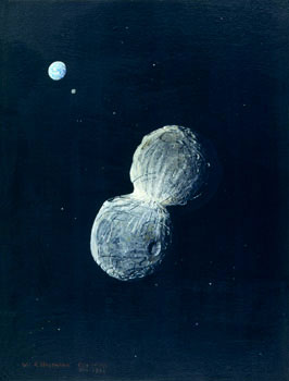 76 - October 1978 and February 1992, Trojan Asteroid 624 - Hektor Approaching Earth