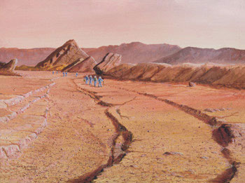 92 - August 1979, Exploring a Martian Channel