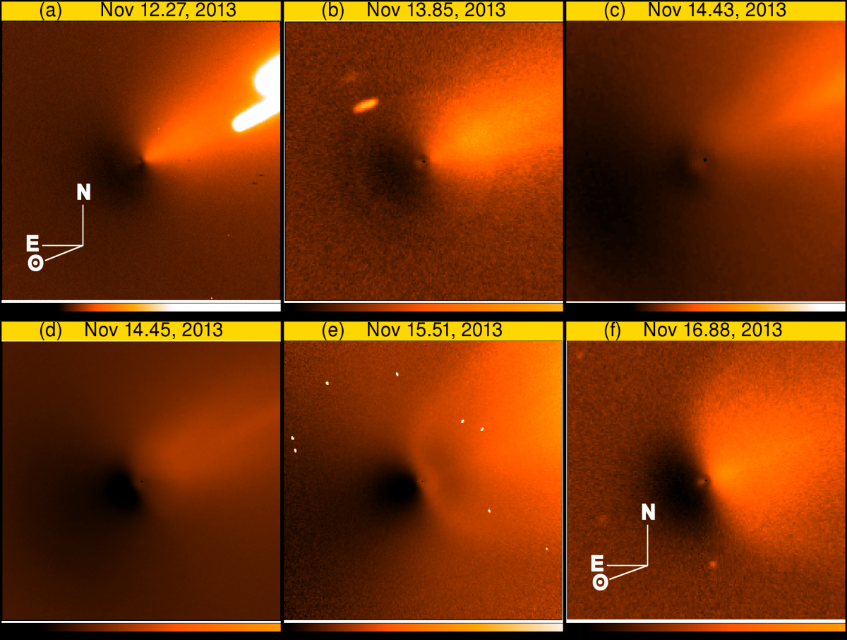 Comet ISON post-outburst