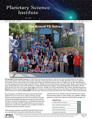 PSI Newsletter | Planetary Science Institute