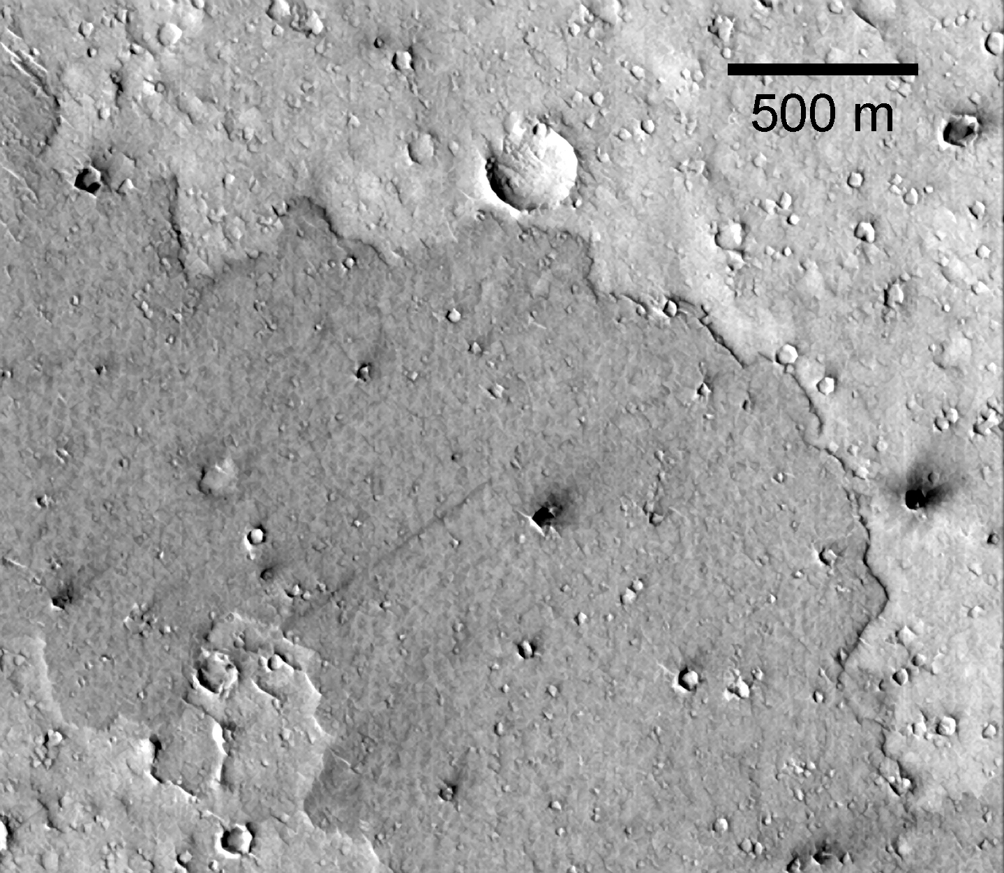 Isochrons for Martian Crater Populations Planetary