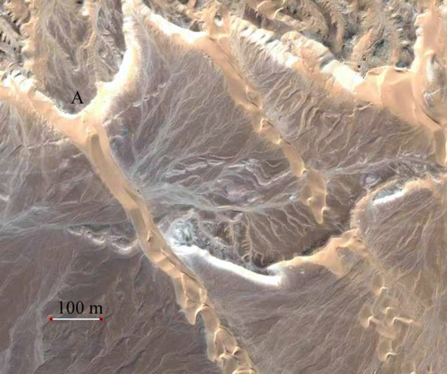 Lee Dunes, NE Sinai, Egypt, Earth